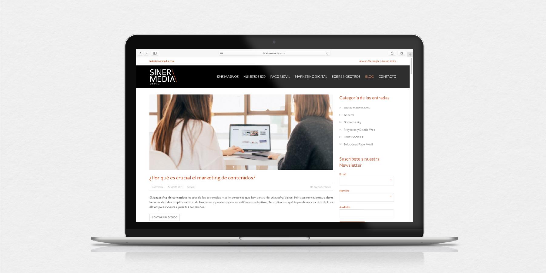 Desenvolupament web